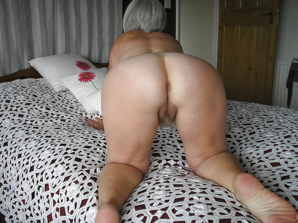 nude bent over granny